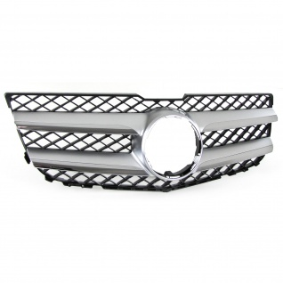 Kühlergrill Frontgrill Silber Chrom für Mercedes GLK X204 12-15