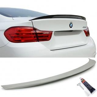 Heckspoiler Spoilerlippe Performance Optik für BMW 4er F32 Coupe ab 13