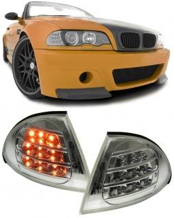 LED Blinker chrom für BMW 3ER E46 98-01 Limousine Touring