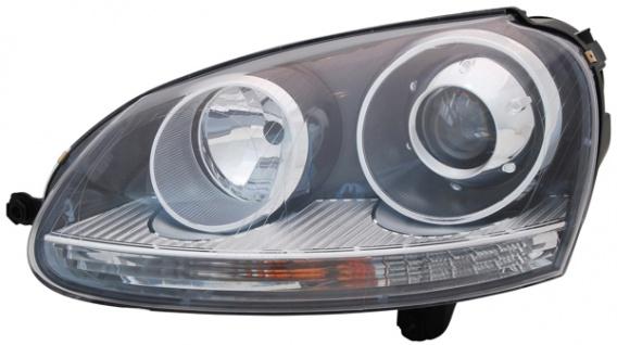 D2S / H7 BI Xenon Scheinwerfer schwarz links TYC für VW Jetta III 1K2 05-10