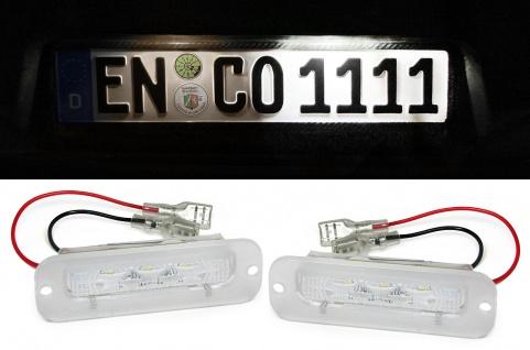 LED Kennzeichenbeleuchtung weiß 6000K für Mercedes G Klasse G Modell W463 89-12