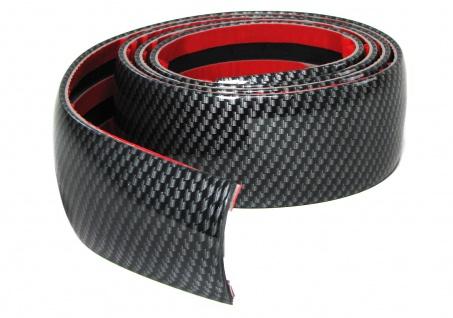 Tür Seiten Schutz Leisten Streifen zum kleben universal 1, 5mx5cm Carbon Look