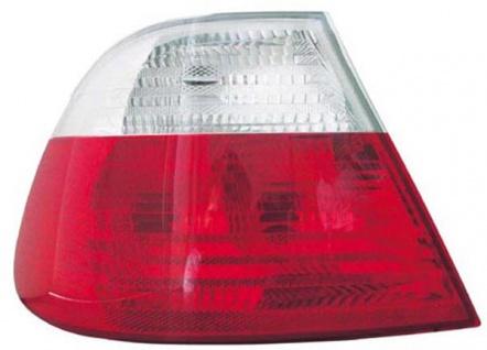 Rückleuchte / Heckleuchte weiß links TYC für BMW 3ER Coupe E46 99-01