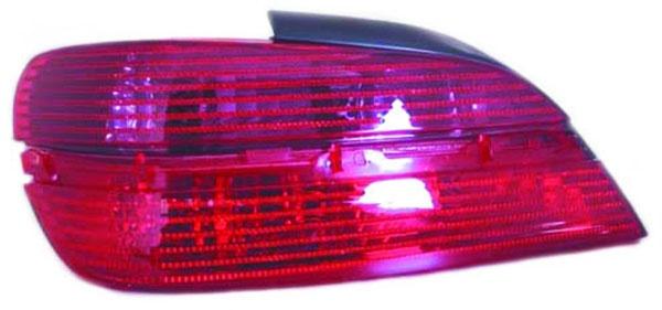 Rückleuchte / Heckleuchte links TYC für Peugeot 406 Limousine 95-04