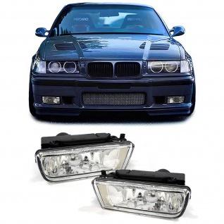 Klarglas Nebelscheinwerfer für 3er BMW E36 Limo Coupe Cabrio Touring auch M3