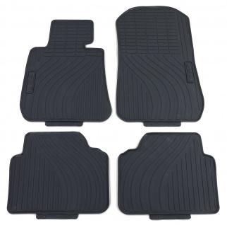 Premium Gummi Fußmatten Set Schwarz für BMW 3er E90 E91 Limousine Touring 05-12