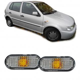 Seitenblinker weiß Paar für VW Golf III Passat 3A Polo 6N1 Sharan Caddy II