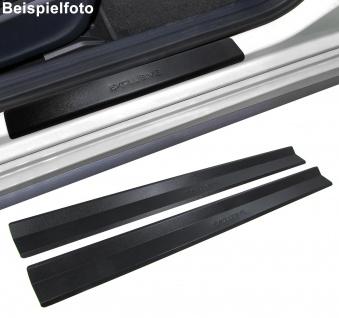Edelstahl Einstiegsleisten Exclusive schwarz für BMW 3ER E46 2-türer 99-07