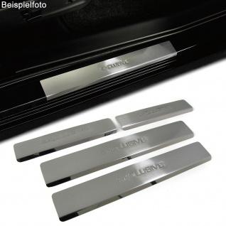Einstiegsleisten Schutz Edelstahl Exclusive für Peugeot 308 ab 07