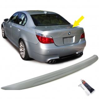 Heckspoiler Spoilerlippe Sport Optik für BMW 5er E60 Limousine 03-10