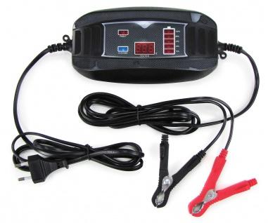 Batterie Ladegerät Erhaltung für PKW Motorrad Boot 6 Volt 12 Volt 4A 6-60AH