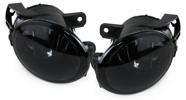 Nebelscheinwerfer HB4 schwarz smoke Paar für VW Passat 3C Limousine Kombi 05-10
