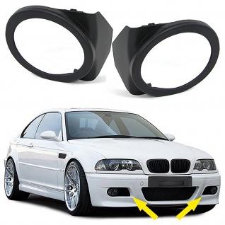 Nebelscheinwerfer Blenden Cover Paar für BMW 3ER E46 98-07