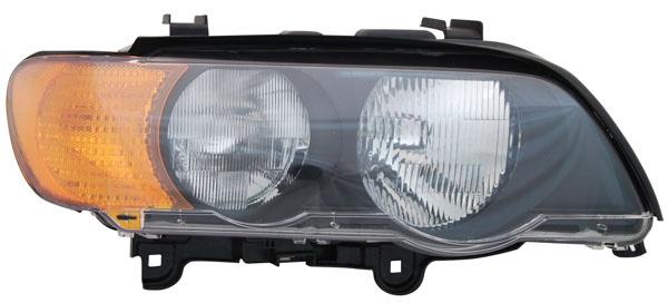 H7 / HB3 Scheinwerfer rechts TYC für BMW X5 E53 00-03