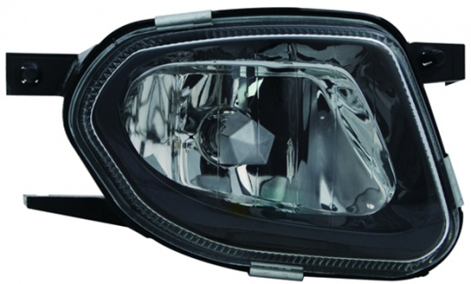 H11 Nebelscheinwerfer schwarz rechts TYC für Mercedes Sprinter 906 06-