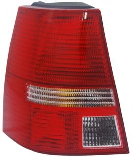 RÜCKLEUCHTE / HECKLEUCHTE WEISS LINKS TYC FÜR VW Golf IV Kombi 97-06
