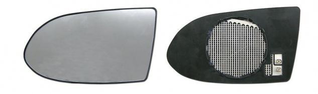 Spiegelglas beheizbar links für Opel Zafira A 99-05