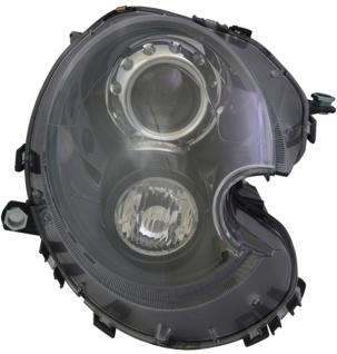 D1S Xenon Scheinwerfer schwarz klar rechts TYC für Mini Clubman R 55 56 57 58 59 10-