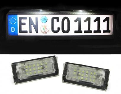 LED Kennzeichenbeleuchtung weiß 6000K für Mini Cooper R50 R53 01-06 R52 04-07