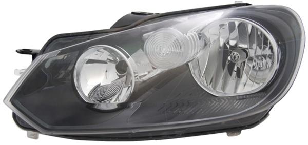H7 / H15 Scheinwerfer links TYC für VW Golf VI 08-
