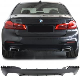 Heck Diffusor Sport Performance Optik für BMW 5er G30 G38 ab 16