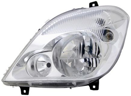 H7 / H7 / H7 Scheinwerfer links TYC für Mercedes Sprinter 906 06-