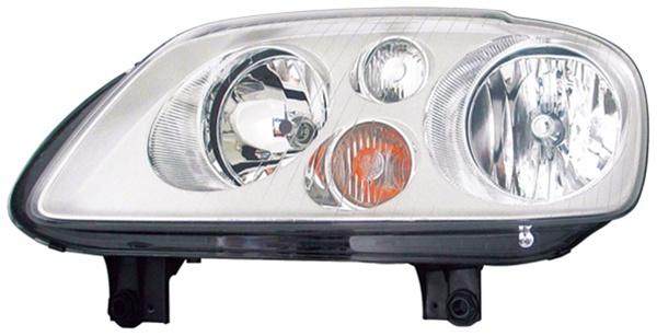 H7 / H7 Scheinwerfer chrom links TYC für VW Touran 1T 03-06