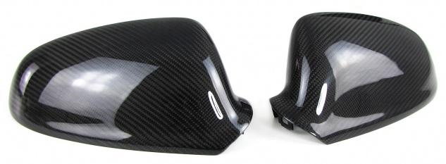Echt Carbon Spiegelkappen zum Austausch für Opel Astra J 09-15