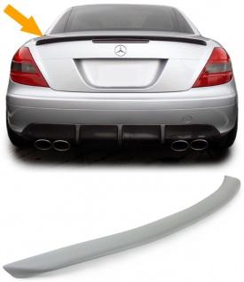 Heckspoiler Hecklippe Sport Look für Mercedes SLK R171 04-11