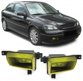Nebelscheinwerfer H3 Gelb Paar für Opel Astra G Kombi CC Kasten Stufenheck 98-05