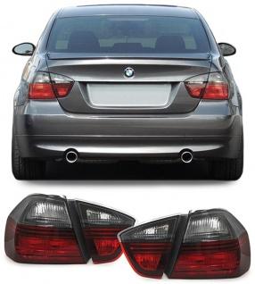 Rückleuchten Blackline Set für BMW 3er E90 Limousine E91 Touring 05-08 - Vorschau 2