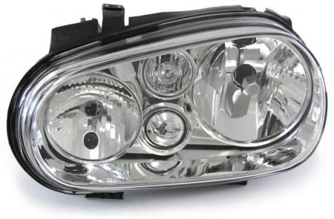 Scheinwerfer ohne Nebelscheinwerfer links H7 H1 für VW Golf 4 97-03