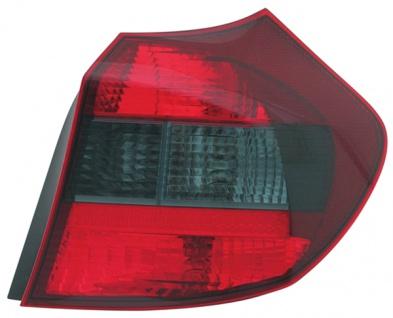 RÜCKLEUCHTE / HECKLEUCHTE SCHWARZ SMOKE RECHTS TYC FÜR BMW 1ER E81 E87 04-06