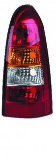 Rückleuchte / Heckleuchte rechts TYC für Opel Astra G Caravan 98-05