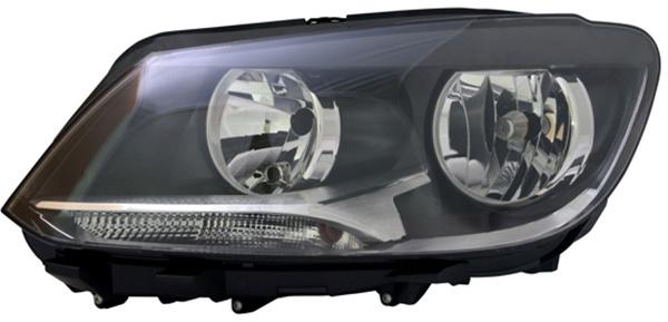 H7 / H15 Scheinwerfer links TYC für VW Touran 1T3 10-