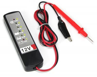 Batterie Lichtmaschinen Tester für 12v mit Kontroll LED für PKW Boot Motorrad