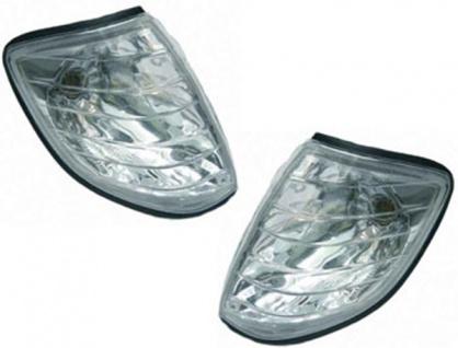 Klarglas Blinker chrom für Mercedes S Klasse W140 91-98