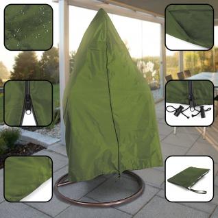 Premium Schutzabdeckung Schutzhülle Cover für Hängesessel Grün 190x100cm