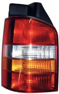 RÜCKLEUCHTE LINKS - HECKKLAPPE FÜR VW T5 Bus + Transporter 03-09
