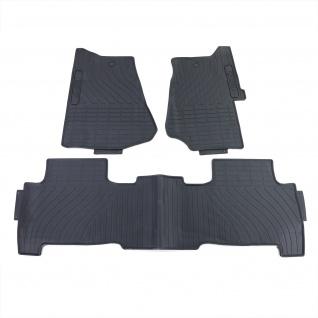 Premium Gummi Fußmatten Set Schwarz für Land Rover Range Rover Sport LM LS 04-13