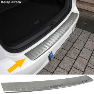 Ladekantenschutz Stoßstangenschutz Edelstahl matt für Ford B-Max ab 12