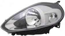 H4 / P21W Scheinwerfer chrom links TYC für FIAT Punto 199 12-