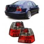 Klarglas Rückleuchten rot klar für VW Bora Limousine 98-05