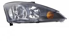 H1 / H7 Scheinwerfer schwarz rechts TYC für Ford Focus I 01-04