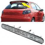 3. KLARGLAS BREMSLEUCHTE LED FÜR Peugeot 206