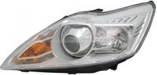 D1S / H1 Xenon Scheinwerfer chrom links TYC für Ford Focus II 08-