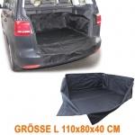 Kofferraum Schutz Matte Wanne Ladeschutz flexibel Uni Größe L 110x80x40cm