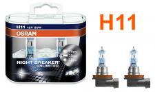 NIGHT BREAKER UNLIMITED H11 55W 12V Halogenleuchtmittel