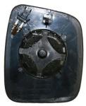 Spiegelglas beheizbar links für FIAT Fiorino 07-