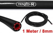 Tenzo-R Performance Silikon Schlauch verstärkt Länge 1M schwarz 8mm